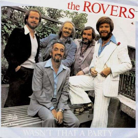 Coverafbeelding The Rovers - Wasn't That A Party
