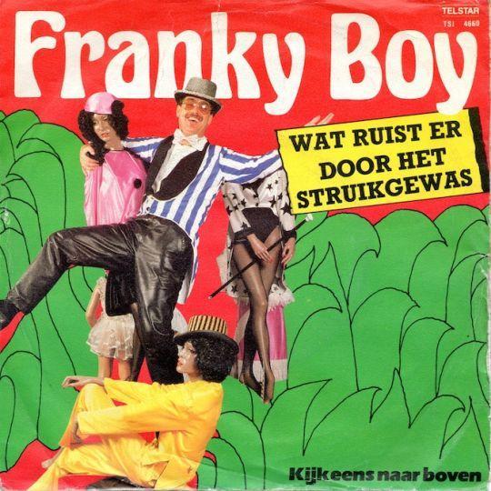 Coverafbeelding Wat Ruist Er Door Het Struikgewas - Franky Boy