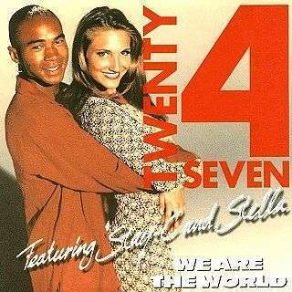 Coverafbeelding We Are The World - Twenty 4 Seven Featuring Stay-c And Stella