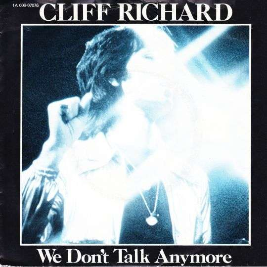 Coverafbeelding We Don't Talk Anymore - Cliff Richard