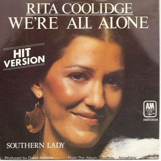 Coverafbeelding We're All Alone - Rita Coolidge