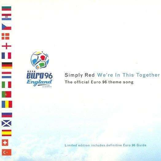 Coverafbeelding Simply Red - We're In This Together - The Official Euro 96 Theme Song