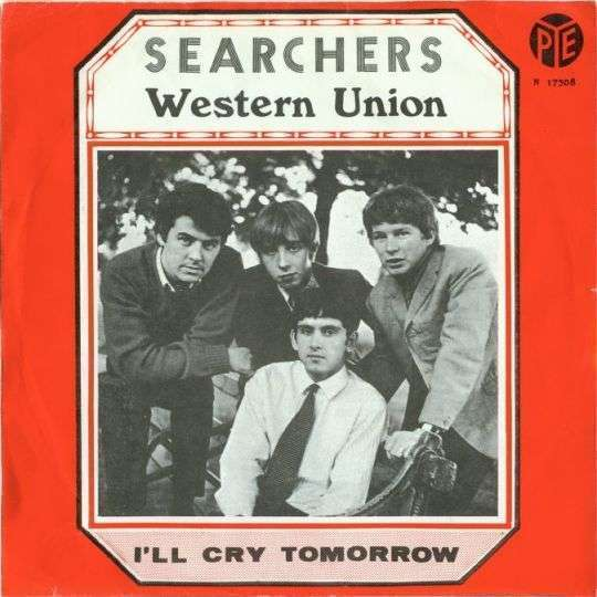 Coverafbeelding Western Union - Searchers / The Five Americans