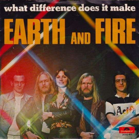 Coverafbeelding What Difference Does It Make - Earth And Fire