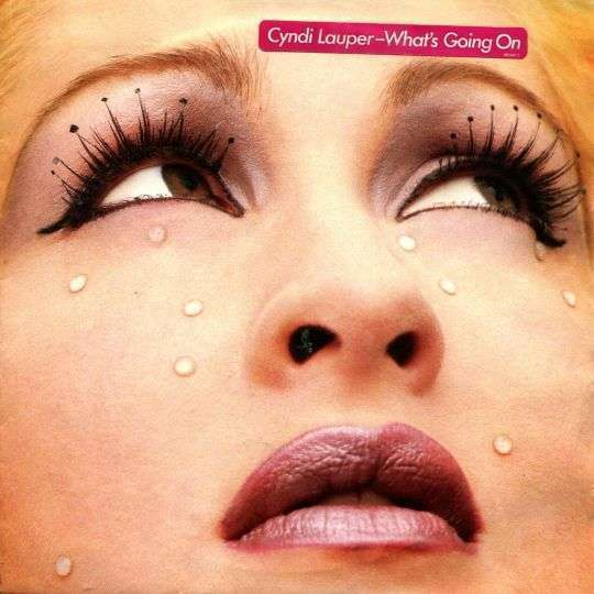 Coverafbeelding Cyndi Lauper - What's Going On