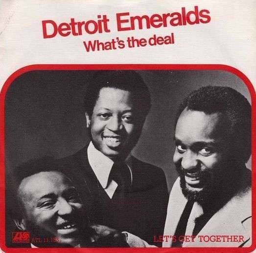 Coverafbeelding What's The Deal - Detroit Emeralds