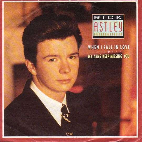 Coverafbeelding When I Fall In Love/ My Arms Keep Missing You - Rick Astley