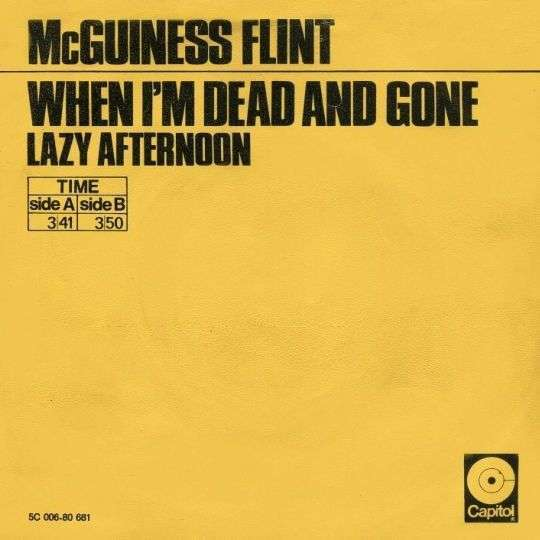 Coverafbeelding McGuiness Flint - When I'm Dead And Gone