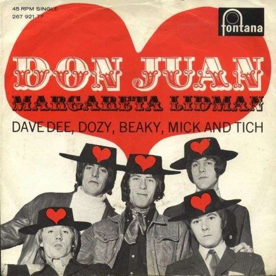 Coverafbeelding Don Juan - Dave Dee, Dozy, Beaky, Mick And Tich