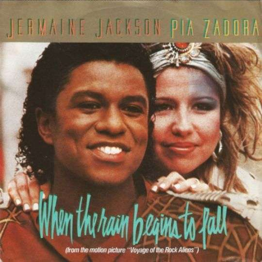 Coverafbeelding Jermaine Jackson & Pia Zadora - When The Rain Begins To Fall