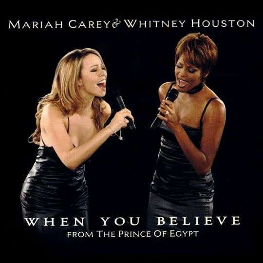 Coverafbeelding Mariah Carey & Whitney Houston - When You Believe