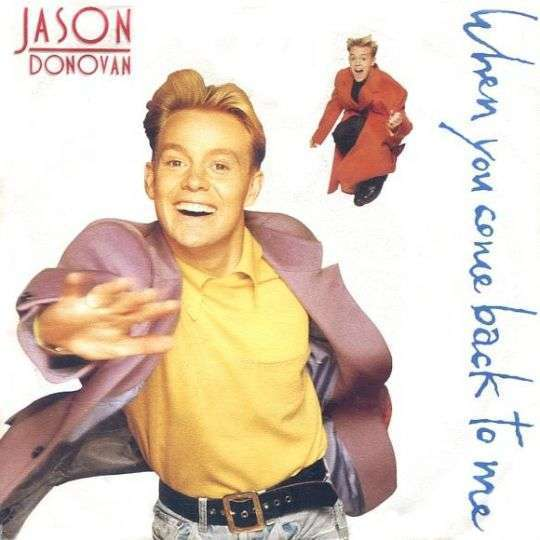 Coverafbeelding When You Come Back To Me - Jason Donovan