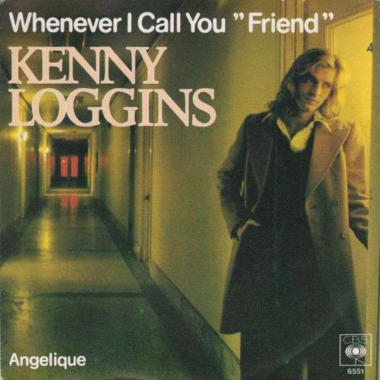 "Coverafbeelding Whenever I Call You ""friend"" - Kenny Loggins"