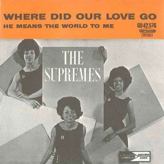Coverafbeelding Where Did Our Love Go - The Supremes