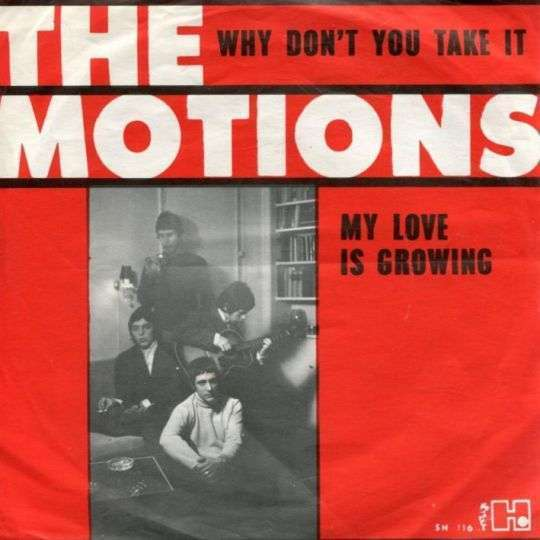 Coverafbeelding The Motions - Why Don't You Take It/ My Love Is Growing