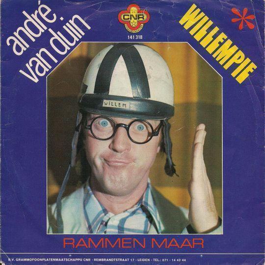 Coverafbeelding Willempie - André Van Duin