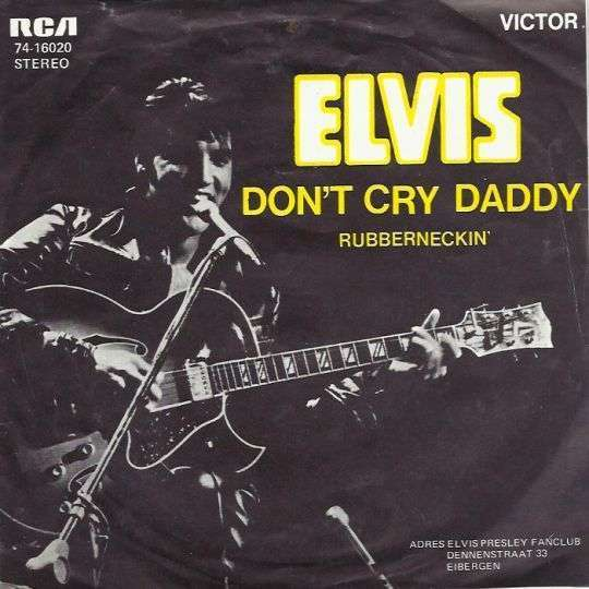 Coverafbeelding Don't Cry Daddy - Elvis