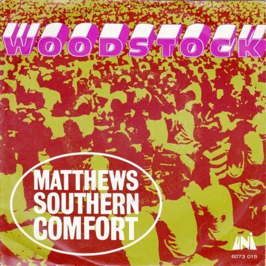 Coverafbeelding Matthews Southern Comfort - Woodstock