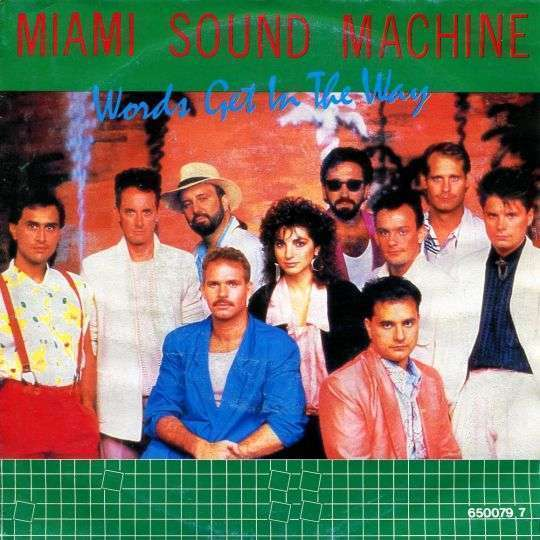 Coverafbeelding Words Get In The Way - Miami Sound Machine