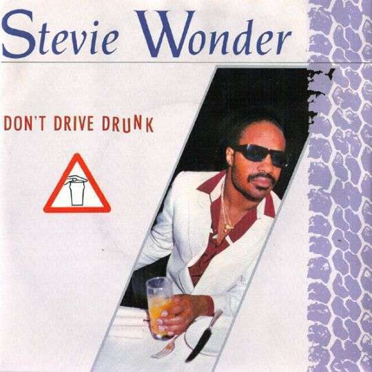 Coverafbeelding Don't Drive Drunk - Stevie Wonder