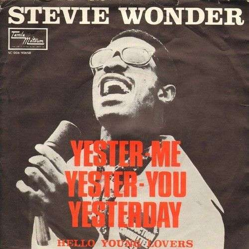 Coverafbeelding Yester-Me Yester-You Yesterday - Stevie Wonder