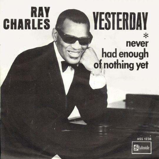 Coverafbeelding Yesterday - Ray Charles