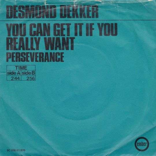 Coverafbeelding You Can Get It If You Really Want - Desmond Dekker