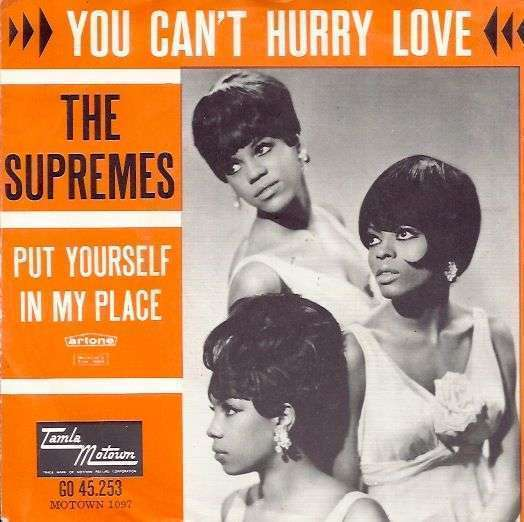 Coverafbeelding You Can't Hurry Love - The Supremes