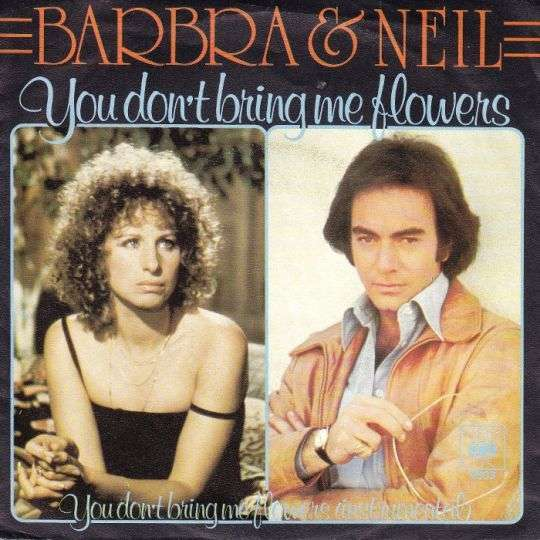 Coverafbeelding You Don't Bring Me Flowers - Barbra & Neil