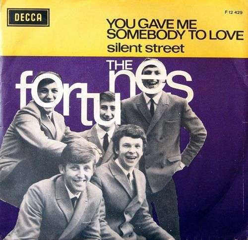 Coverafbeelding You Gave Me Somebody To Love - The Fortunes