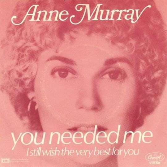 Coverafbeelding You Needed Me - Anne Murray
