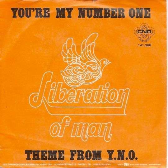 Coverafbeelding You're My Number One - Liberation Of Man