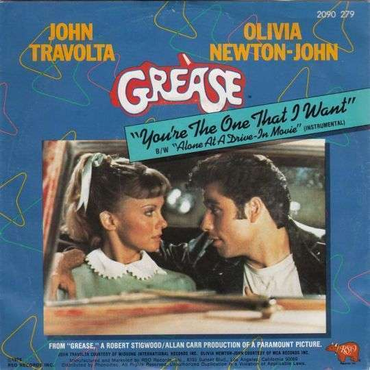 Coverafbeelding You're The One That I Want - John Travolta & Olivia Newton-john