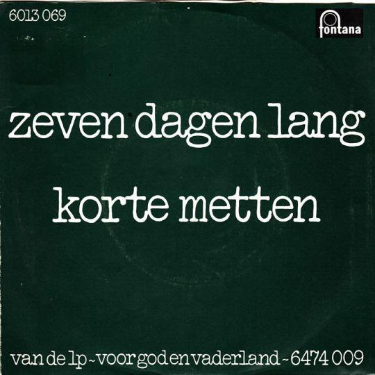 Coverafbeelding Zeven Dagen Lang - Bots