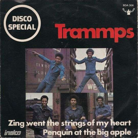 Coverafbeelding Trammps - Zing Went The Strings Of My Heart