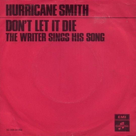Coverafbeelding Don't Let It Die - Hurricane Smith