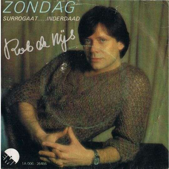 Coverafbeelding Zondag - Rob De Nijs