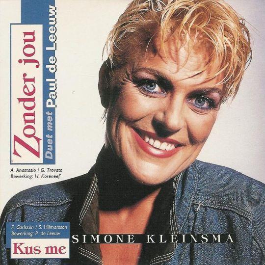 Coverafbeelding Zonder Jou - Simone Kleinsma - Duet Met Paul De Leeuw