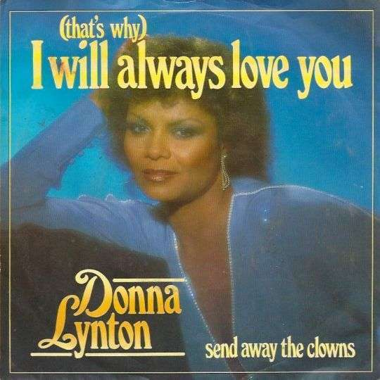 Coverafbeelding (That's Why) I Will Always Love You - Donna Lynton