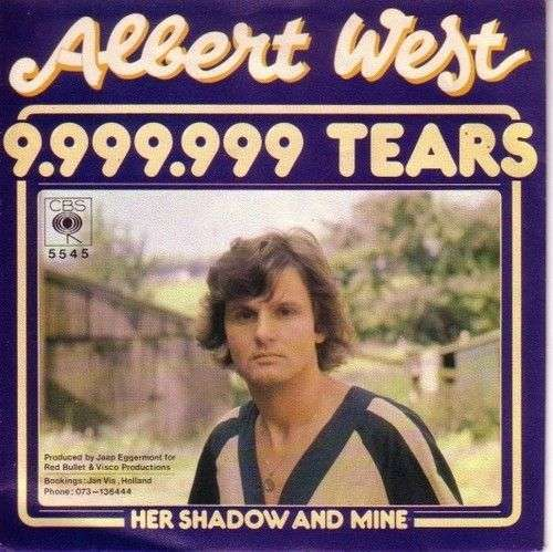 Coverafbeelding 9.999.999 Tears - Albert West