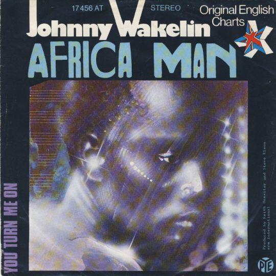 Coverafbeelding Africa Man - Johnny Wakelin