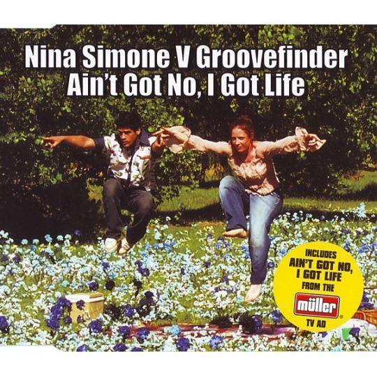 Coverafbeelding Nina Simone v Groovefinder - Ain't Got No, I Got Life