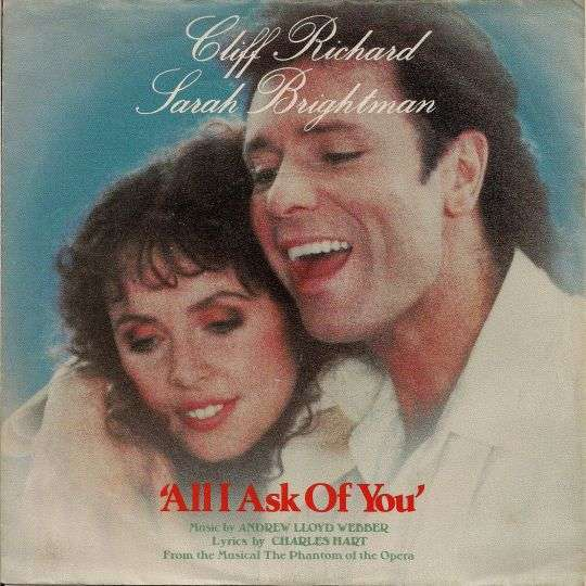 Coverafbeelding Cliff Richard & Sarah Brightman - All I Ask Of You