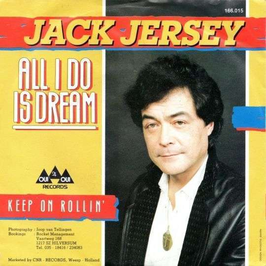 Coverafbeelding Jack Jersey - All I Do Is Dream