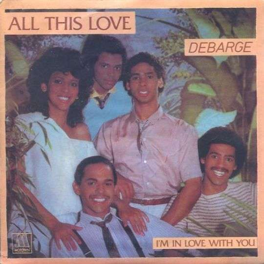 Coverafbeelding All This Love - Debarge