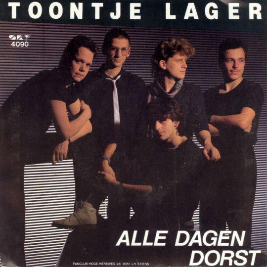 Coverafbeelding Toontje Lager - Alle Dagen Dorst