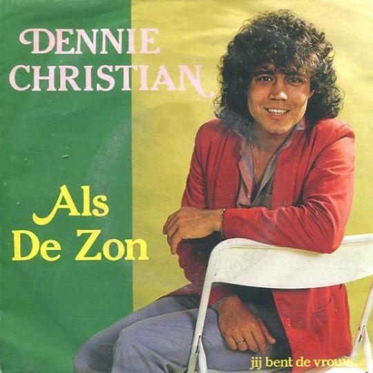 Coverafbeelding Als De Zon - Dennie Christian