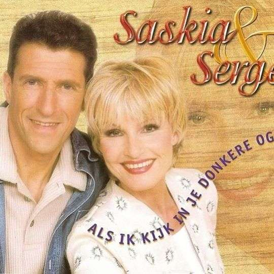 Coverafbeelding Als Ik Kijk In Je Donkere Ogen - Saskia & Serge