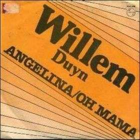 Coverafbeelding Angelina/oh Mama - Willem Duyn