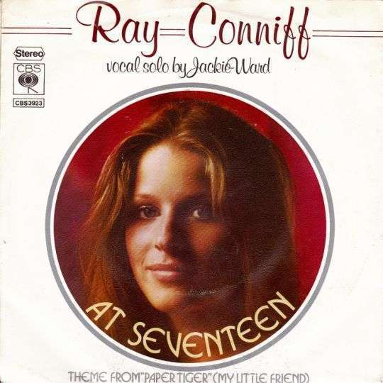 Coverafbeelding At Seventeen - Ray Conniff - Vocal Solo By Jackie Ward